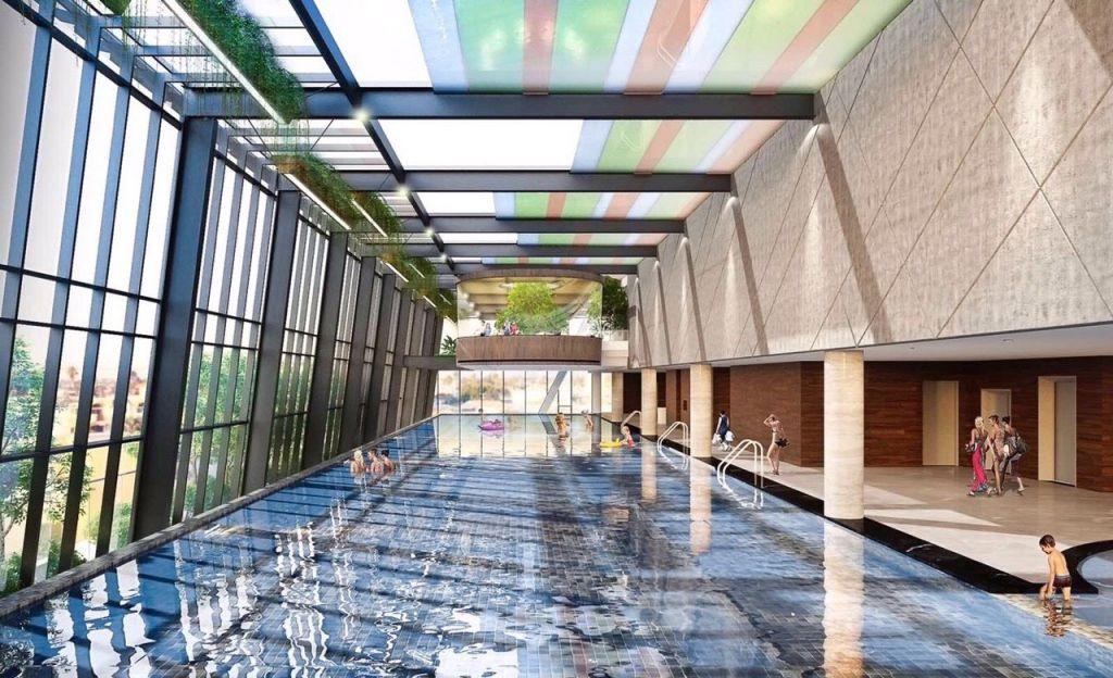 bể bơi dự án grandeur palace giảng võ