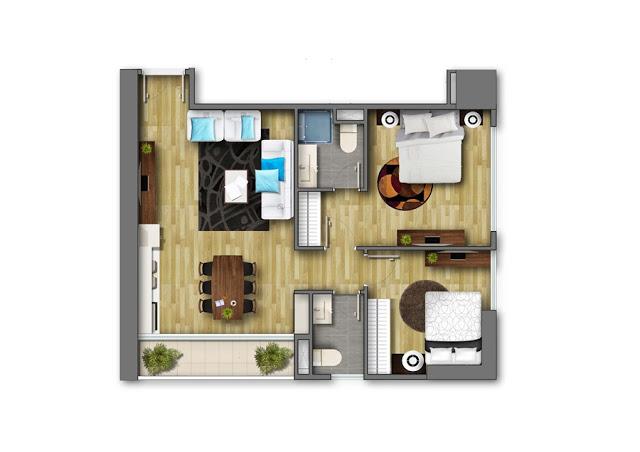chung cư central land 219 trung kính