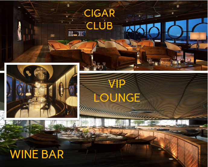 cigar club vip lounge wine bar tnr evergreen quan 7