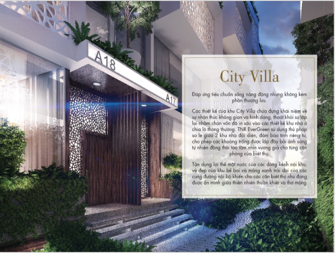 city villa tnr evergreen quận 7