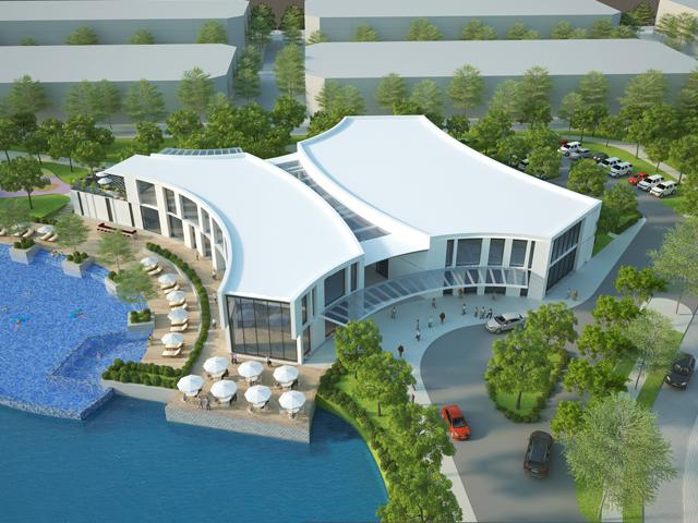 club house bách việt lake garden