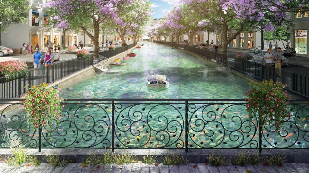 kanal town dự án green dragon city cẩm phả