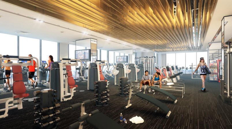 gym brg grand plaza