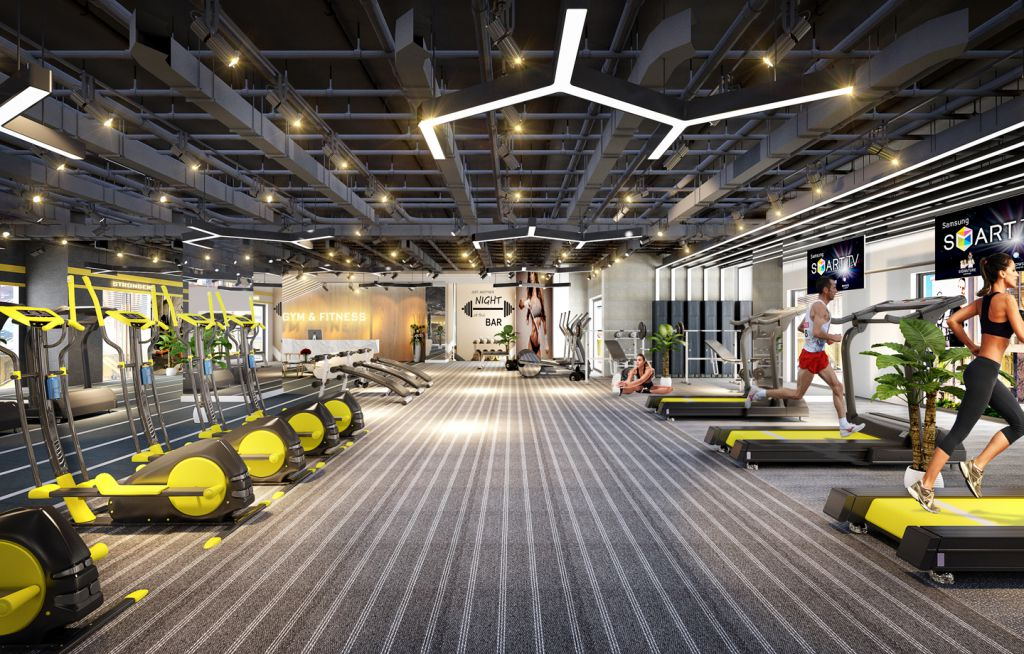 gym sunshine city sài gòn
