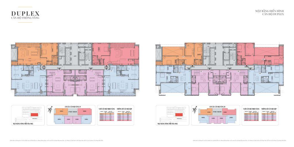 mặt bằng tầng duplex 138b giảng võ