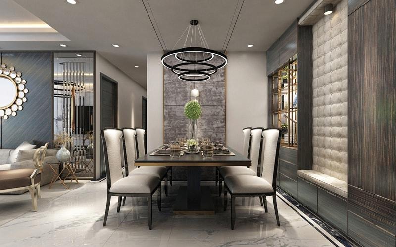 phòng ăn chung cư sunshine global city