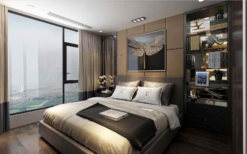 phòng ngủ chung cư sunshine global city