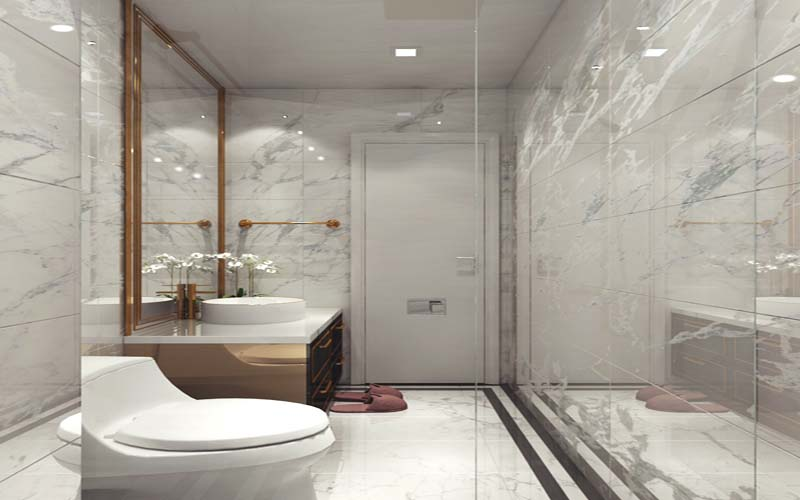 phòng vệ sinh chung cư sunshine global city