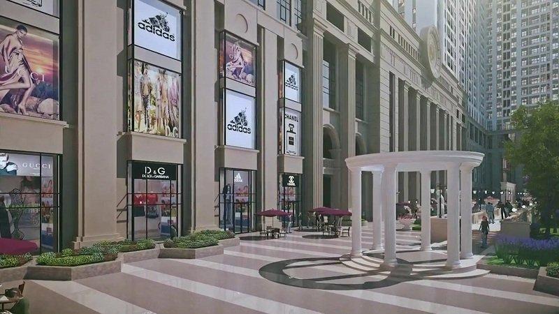 trung tâm thương mại the victoria an hưng