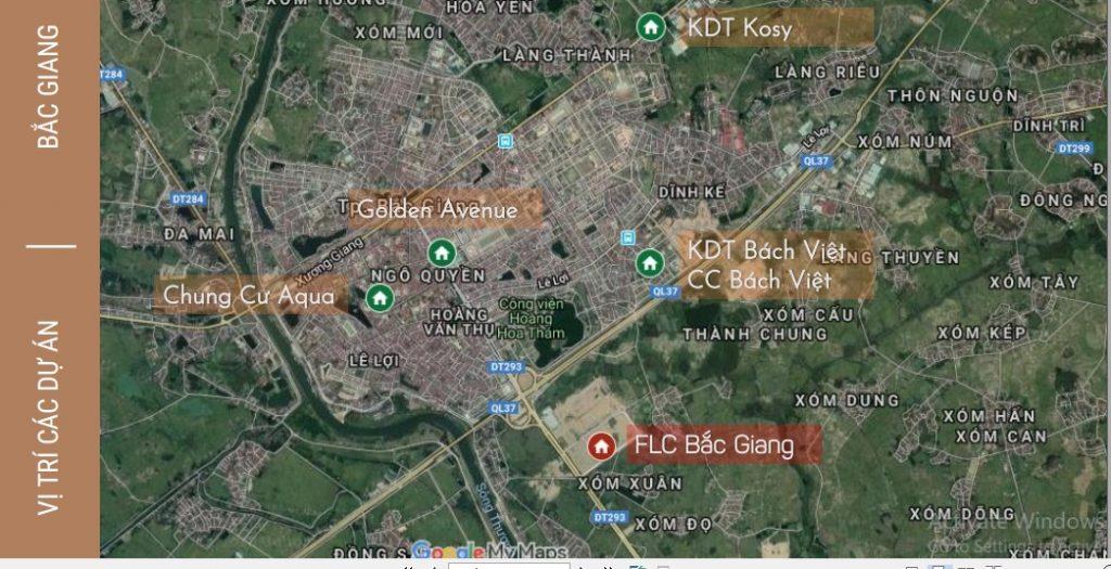 vị trí dự án flc square world