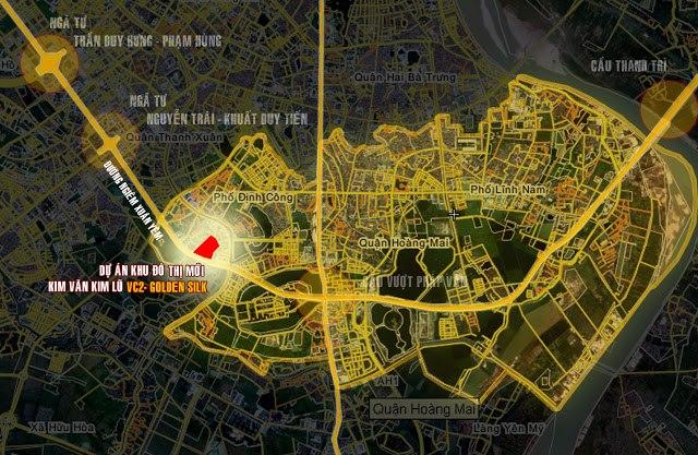 vị trí khu đô thị kim văn kim lũ