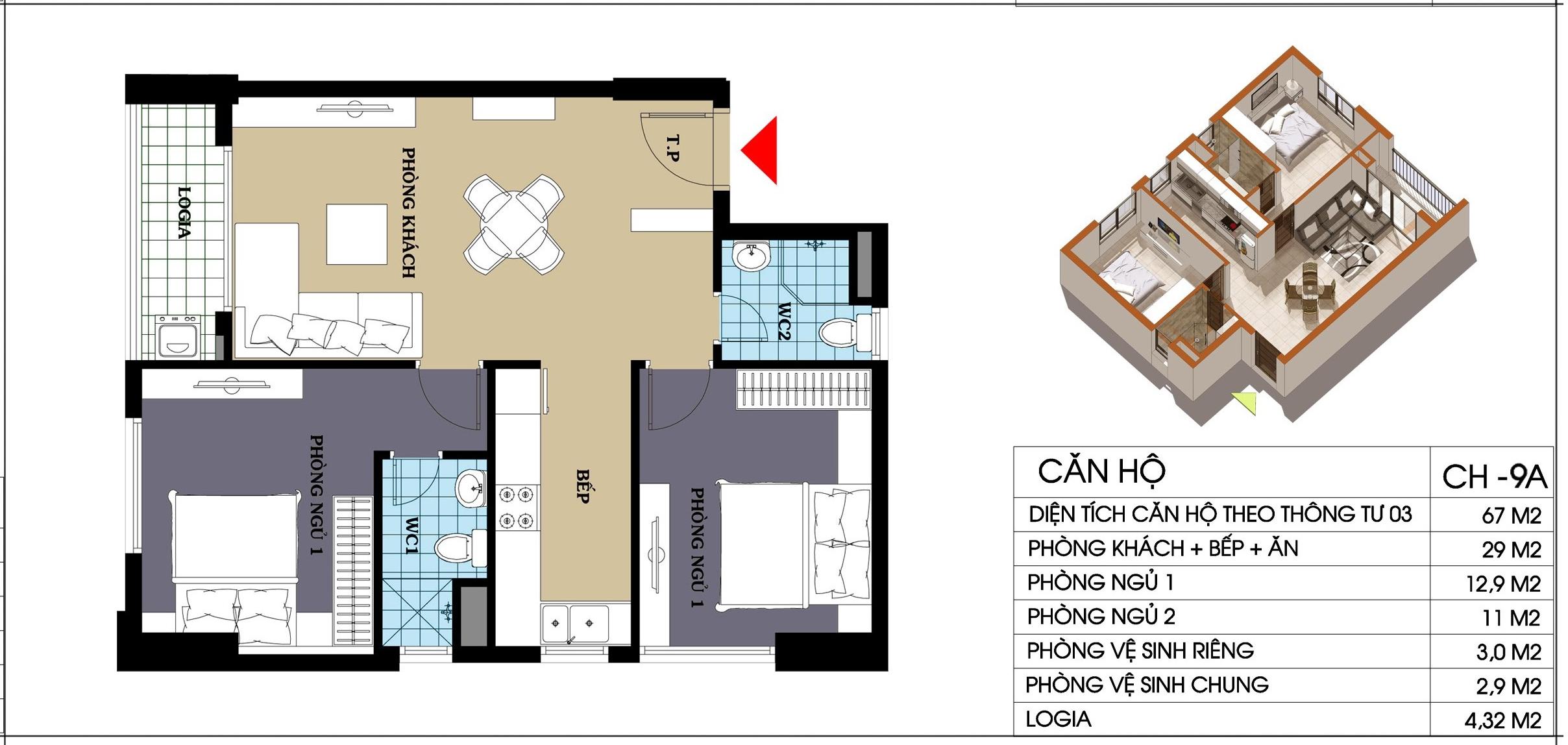 căn hộ 9a chung cư @home