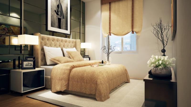 phòng ngủ chung cư c22 bộ công an