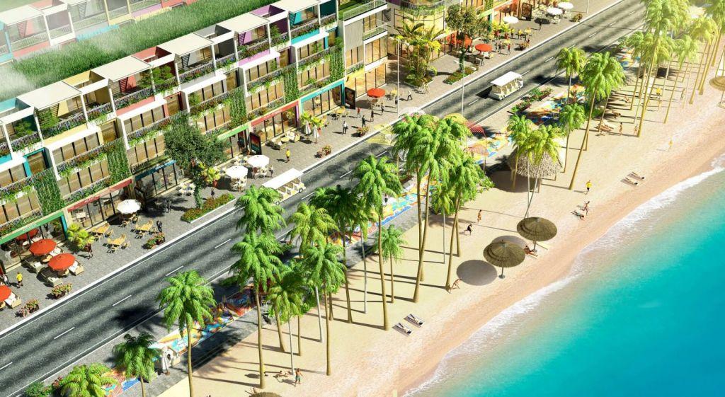 bãi biển tại dự án