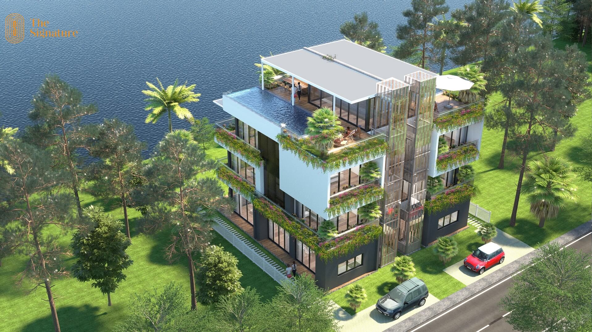 biệt thự the signature 150m2