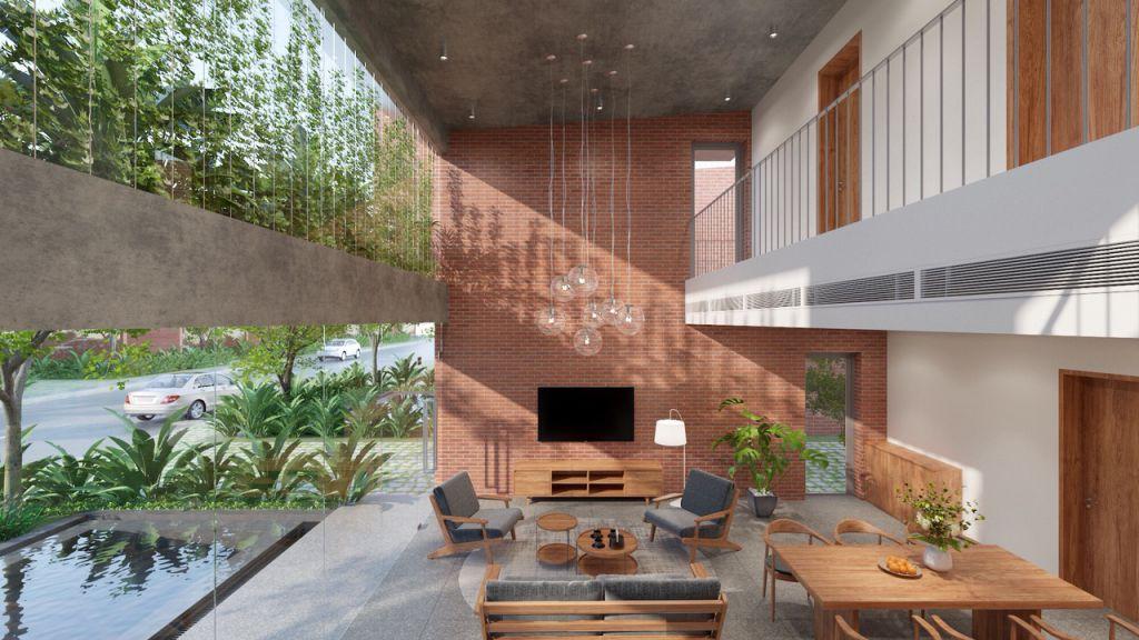 thiết kế biệt thự vedana resort