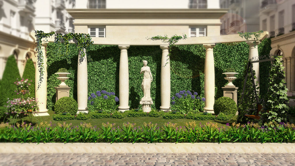 cảnh quan biệt thự grandeur palace giảng võ