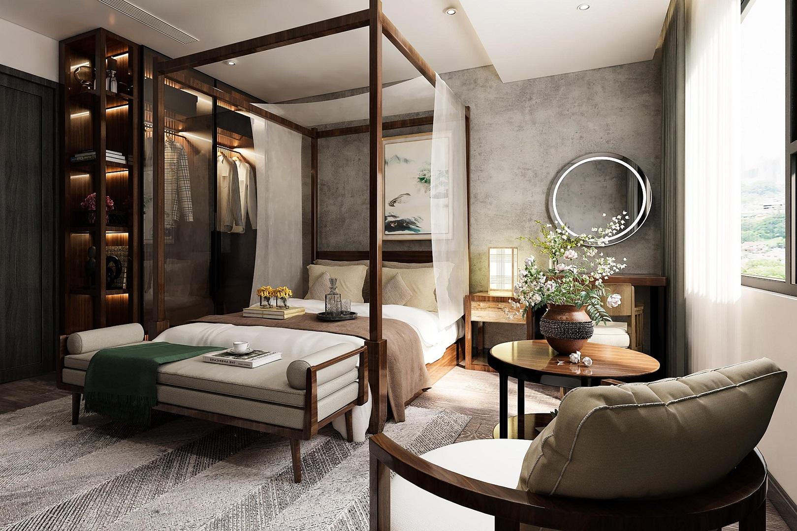 nội thất căn hộ central residence yên sở