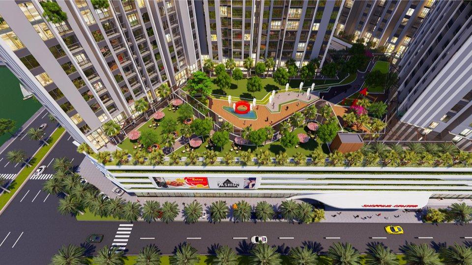 tiện ích dự án central residence