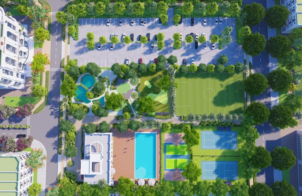 tiện ích dự án ceohomes hana garden