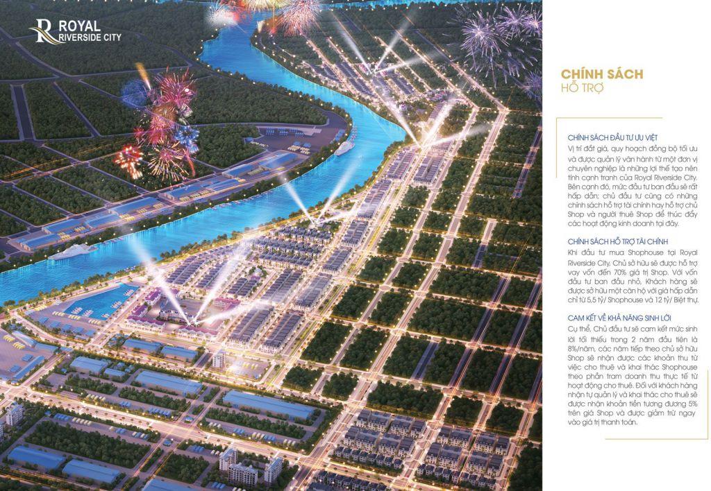 chính sách bán hàng dự án royal riverside city