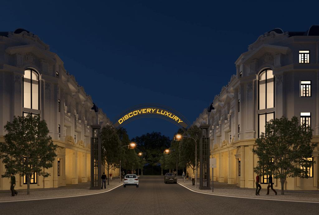 cổng chào dự án discovery luxury