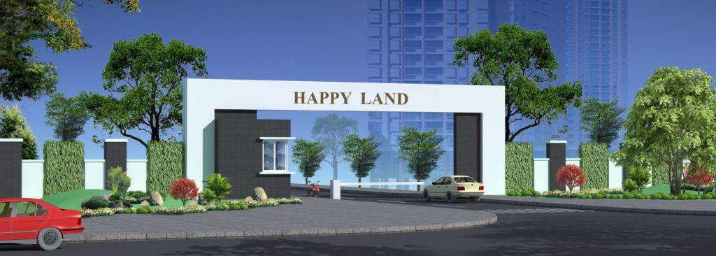 cổng chào dự án happy land