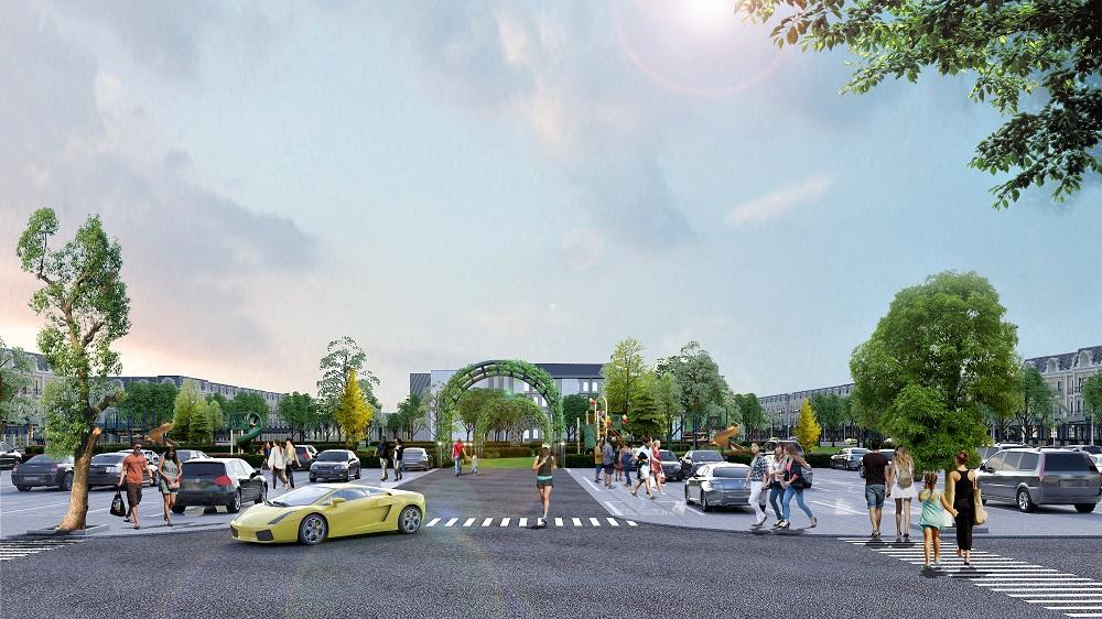 công viên tại dự án ruby city hạ long