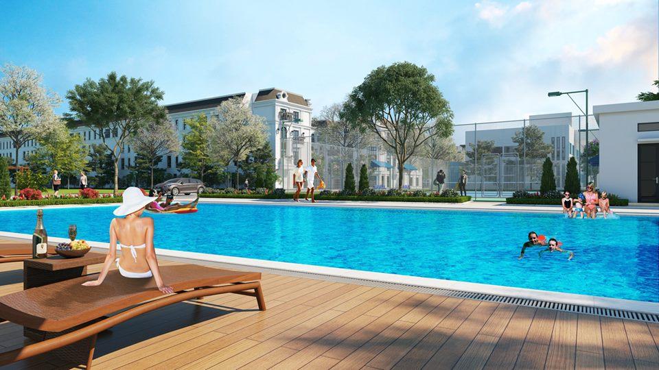 tiện ích elegant park villa thạch bàn
