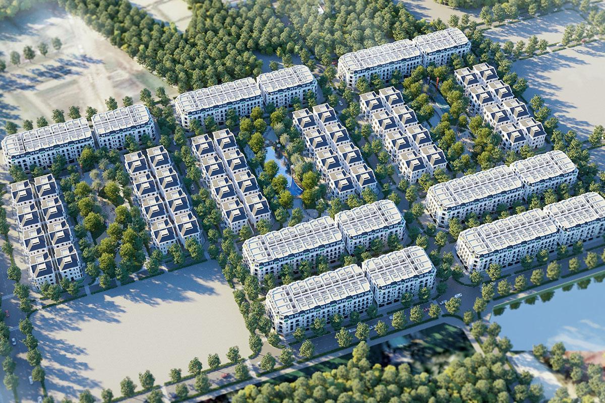 phối cảnh dự án eurowindow twin parks trâu quỳ gia lâm
