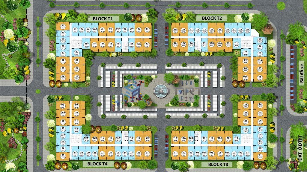 mặt bằng chung cư flc tropical city