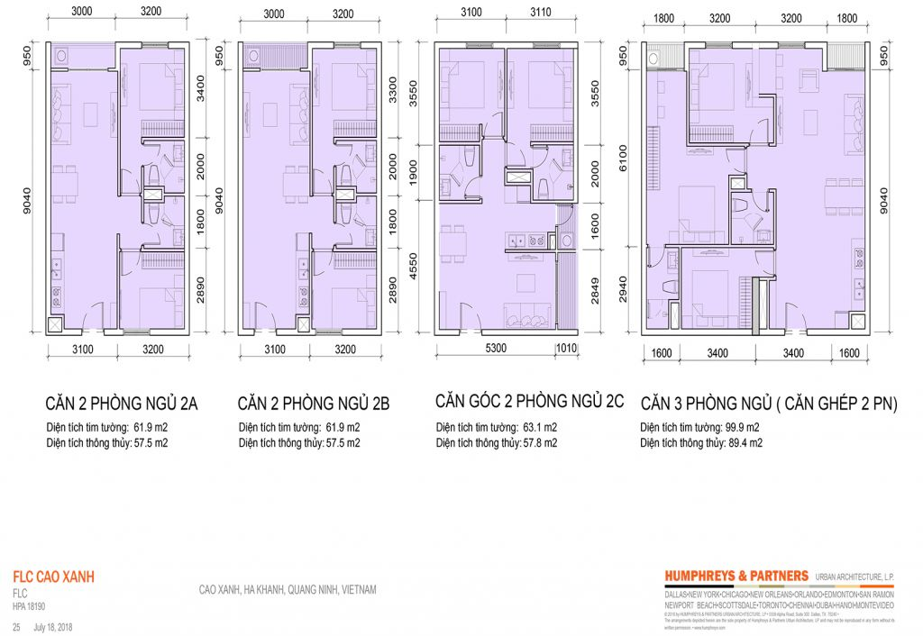 thiết kế căn hộ flc tropical city