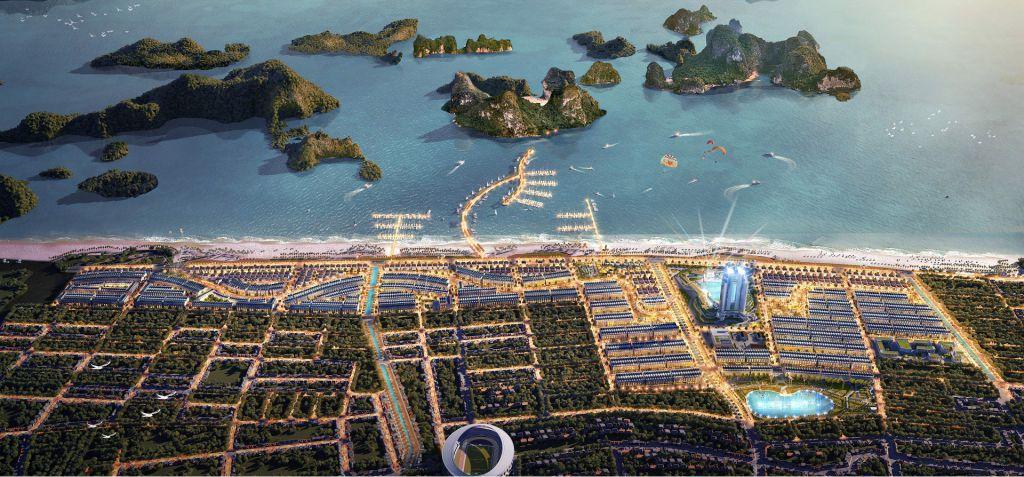 phối cảnh dự án green dragon city