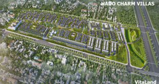 dự án hà đô charm villas