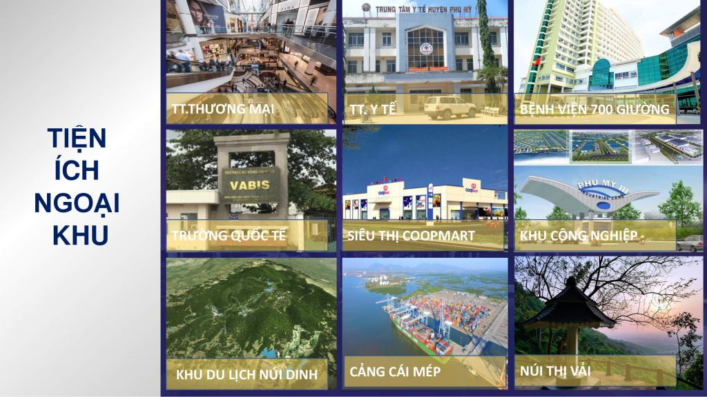 tiện ích dự án harbor center