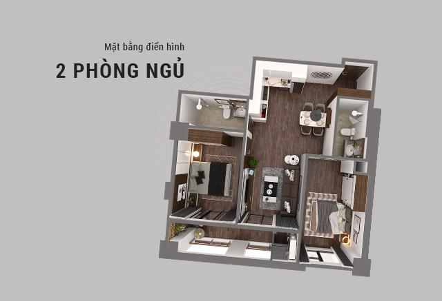 thiết kế căn hộ chung cư hatay millennium