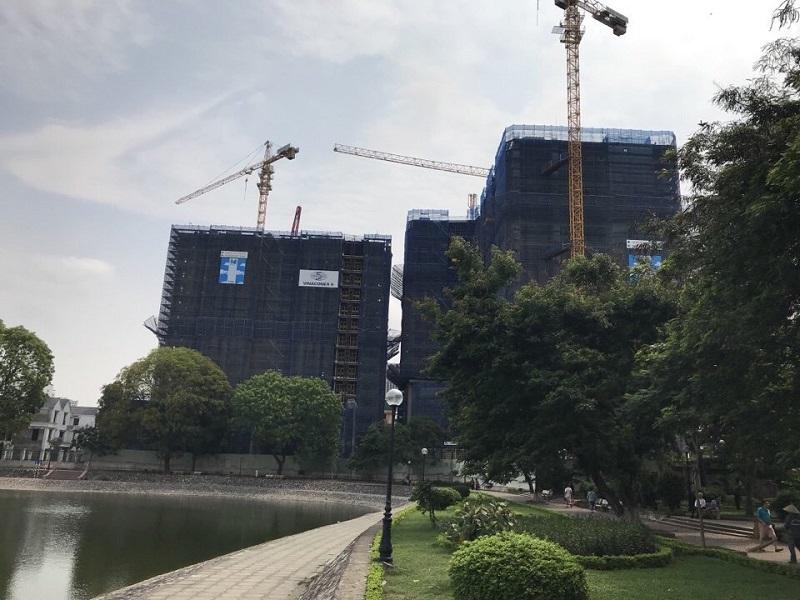 hình ảnh thực tế dự án brg grand plaza