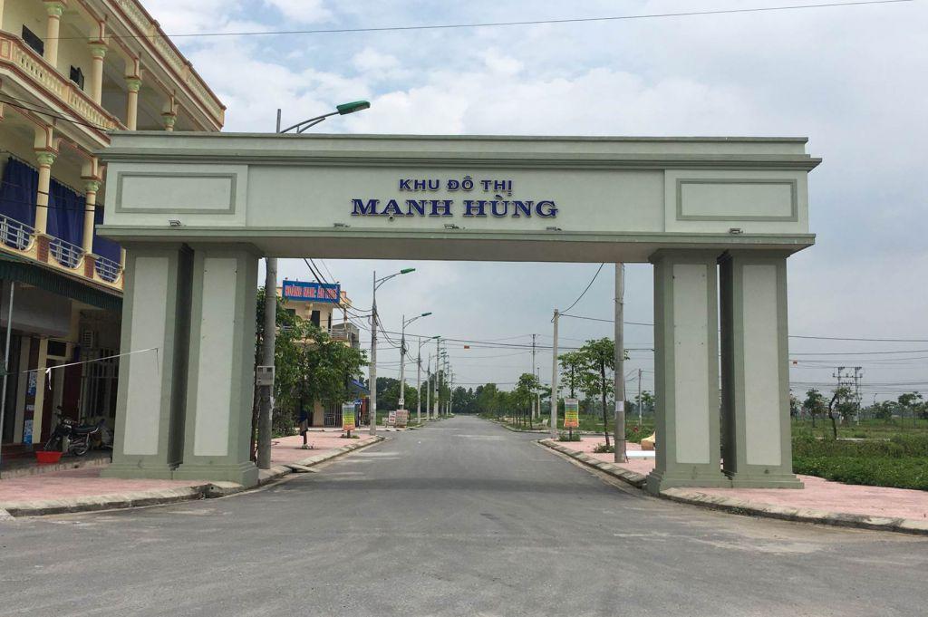 hình ảnh thực tế dự án mạnh hùng eco town hà nam