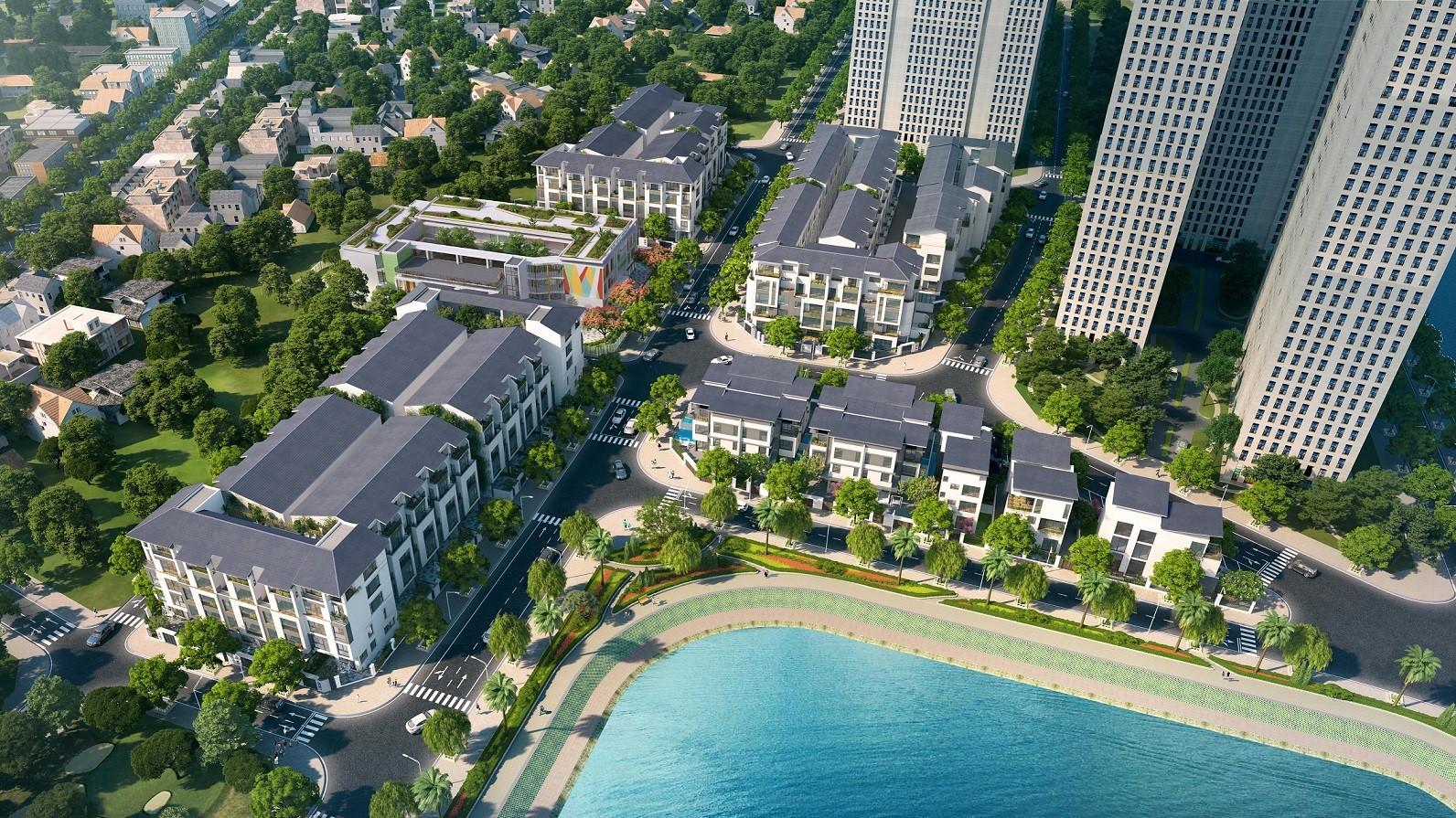 dự án hoàng thành villas