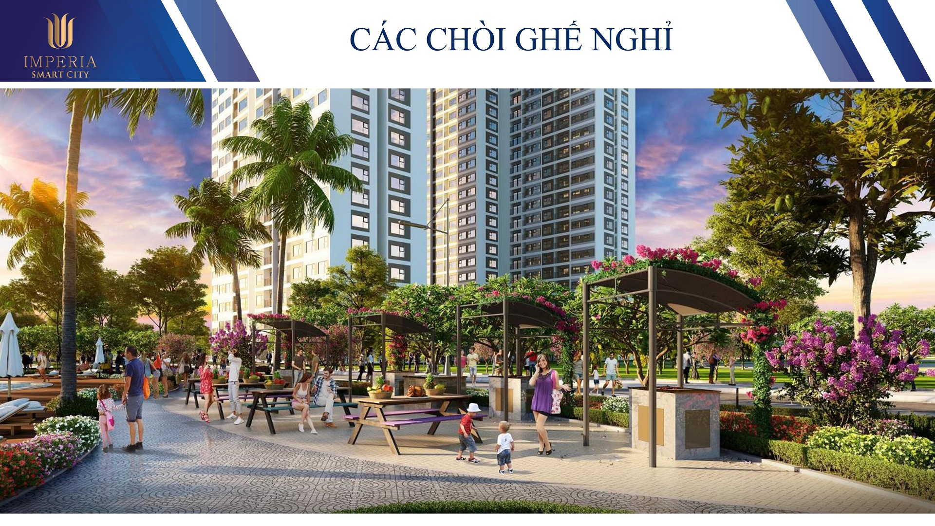 chòi nghỉ imperia smart city