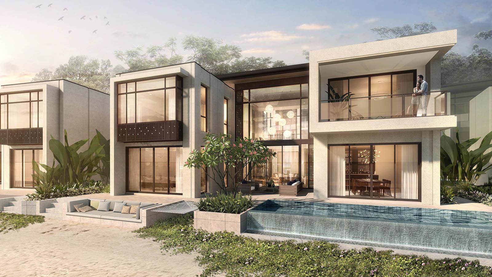biệt thự beach villa intercontinental residence halong bay