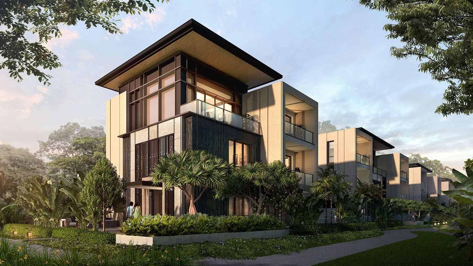 biệt thự garden villa intercontinental residences halong bay