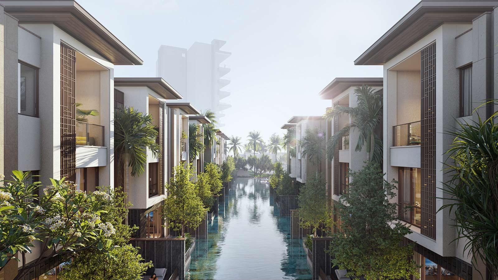 biệt thự row villa intercontinental residence halong bay