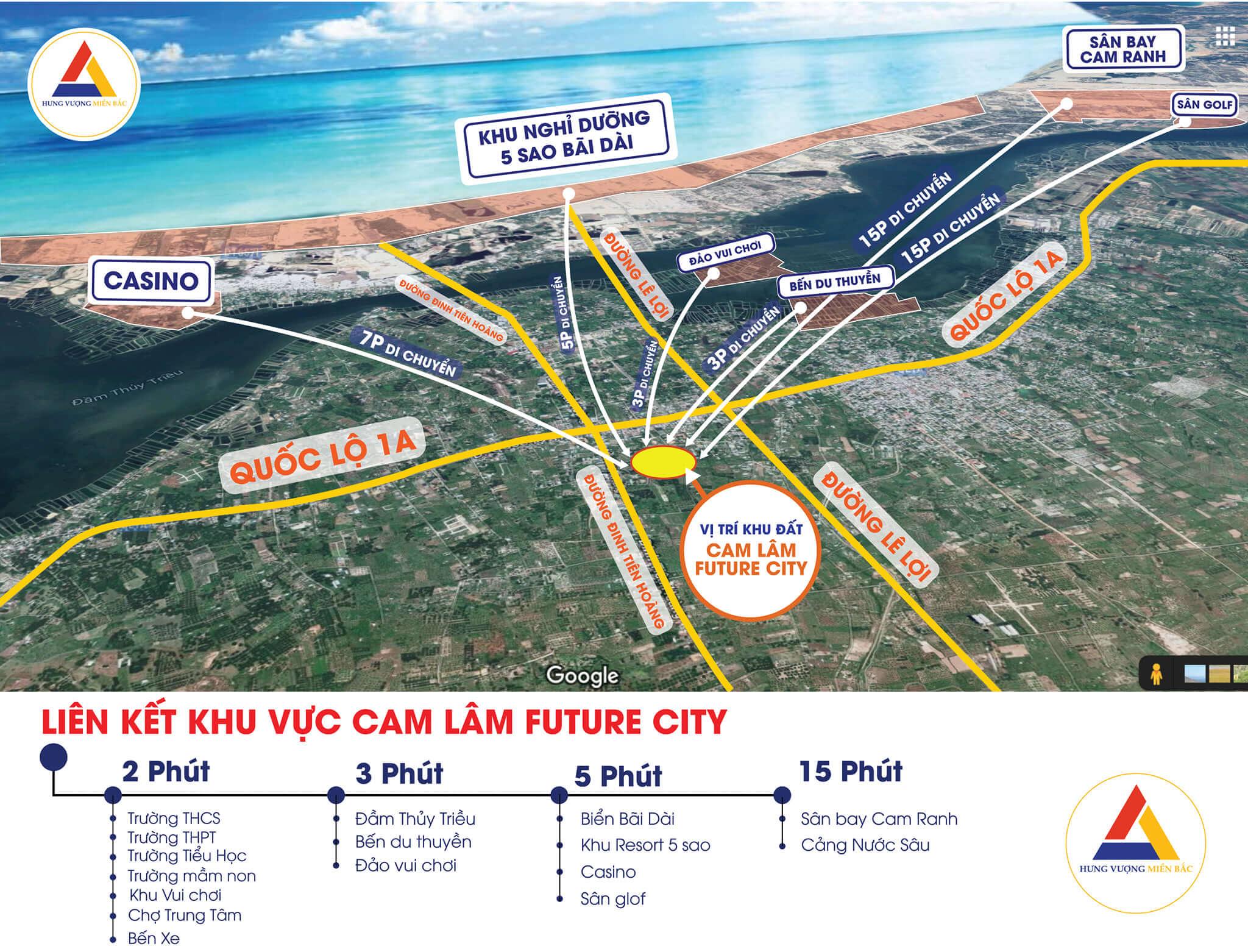 liên kết vùng dự án cam lâm future city