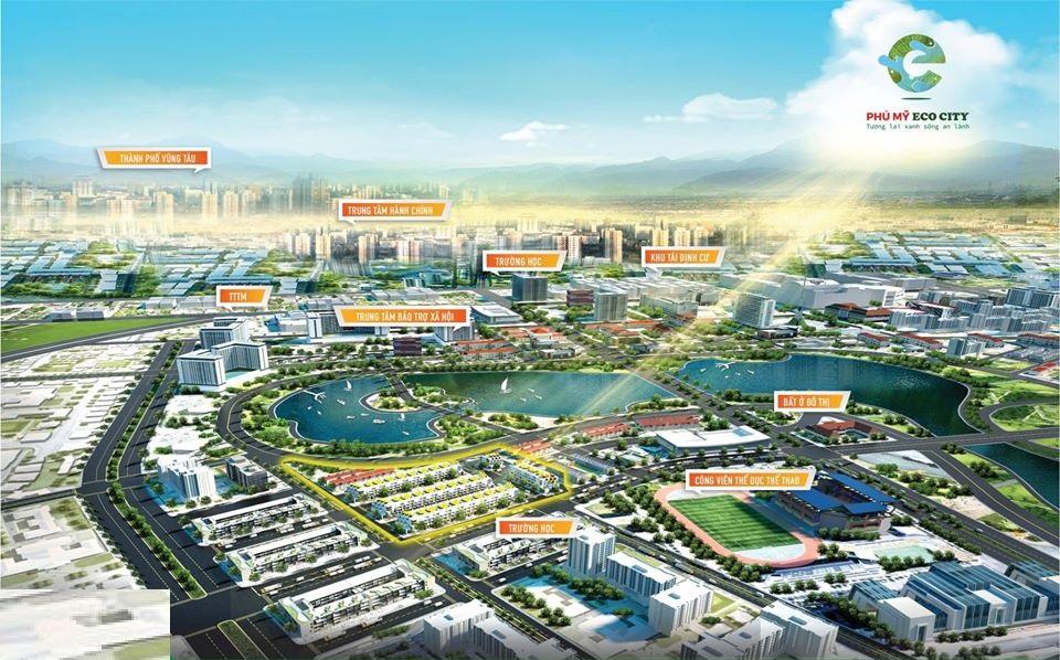liên kết vùng dự án phú mỹ eco city
