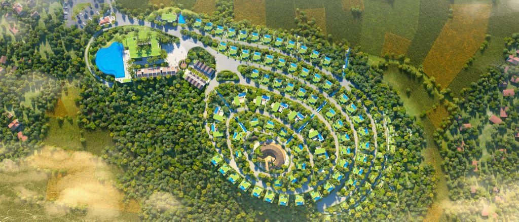 dự án long thành hòa bình luxury resort lương sơn