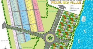 mặt bằng dự án pearl sea villas