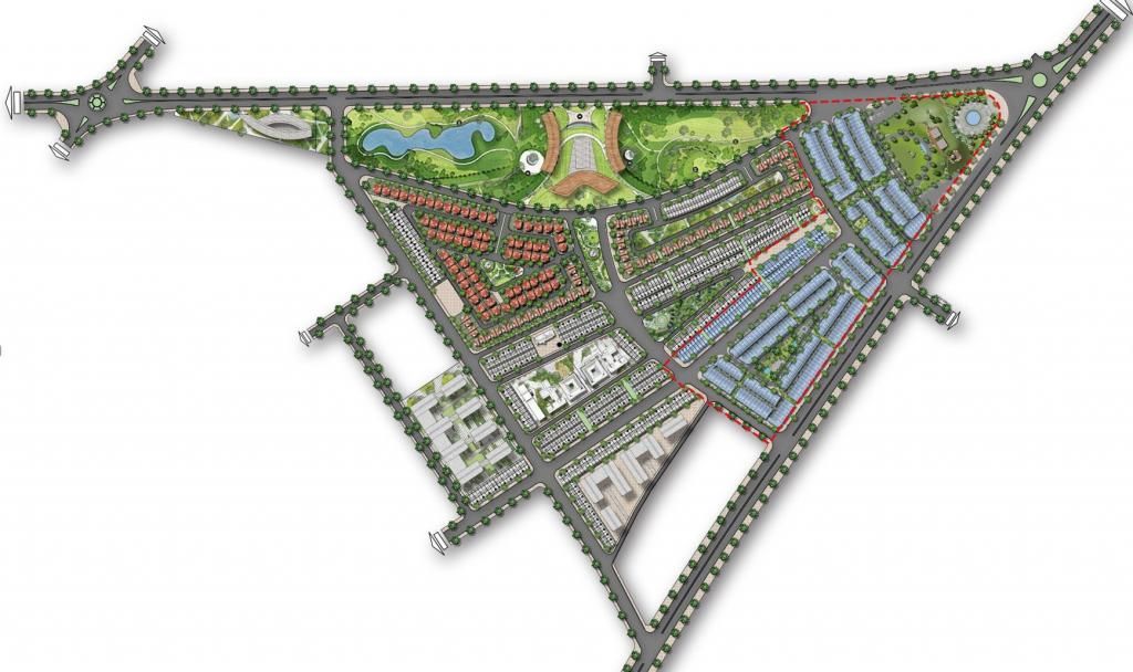 mặt bằng dự án premia eco city