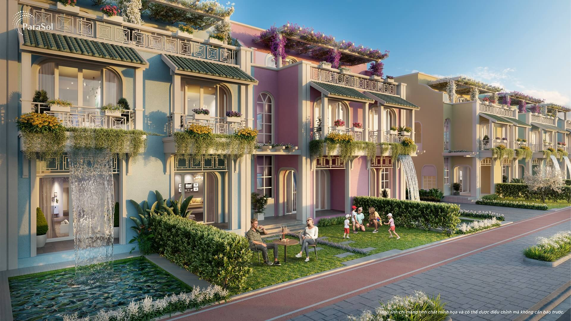 mặt tiền unique villa