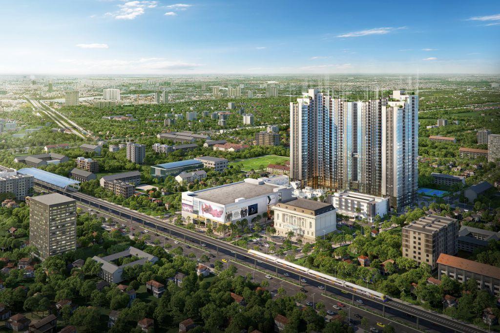 dự án chung cư mipec rubik 360